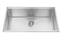 KINDRED topmount stainless singles kitchen sink