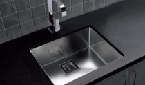 "Castle Bay Pyke Plus Kitchen Sink 21"" x 16"""
