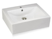 "Square OverMount Sink 18"" x 18"""