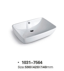 Luxembourg Overmount Bathroom Sink