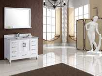 "Armada 48"" Bathroom Vanity White"