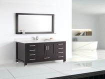"Armada 60"" Single Sink Bathroom Vanity"