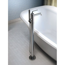 Kalia Cité  Floormount 2-piece tub filler with handshower