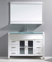 "Marbaya 48"" Bathroom Vanity White"