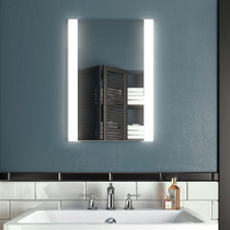 "Kalia Accent Illuminated LED Anti Fog Mirror 18"" x 26"""