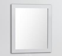 "Royal Wall Framed Mirror 30"" White"