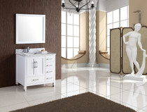 "Armada 42"" Bathroom Vanity White"