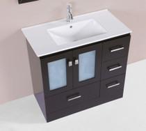 "Hamilton 32"" Single Modern Bathroom Vanity Espresso"