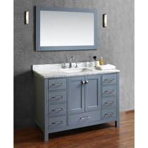 "Armada 48"" Bathroom Vanity Ice Grey"