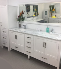 "Armada 90"" Bathroom Vanity & Side Cabinet Tower"