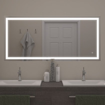 NEW EFFECT MR1534 60'' X 27 ½'' LED MIRROR