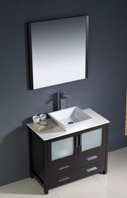 "Vaughn 28"" Bathroom Vanity Espresso"