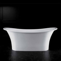 Victoria and Albert Bath Toulouse TOU-N-SW Volcanic Limestone and Resin Free Standing Bathtub