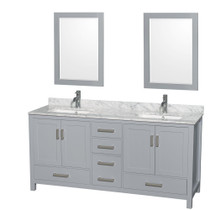 "Armada 60"" Bathroom Vanity Ice Grey"