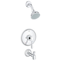 Grohe Fairbron Tub  Shower System Complete Trim + Valve