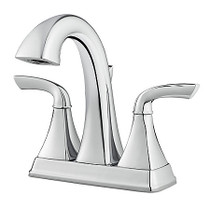 Pfister Bronson Centerset Double Handle Deck Mount Bath Faucet