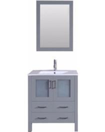 "Bello 30"" Bathroom Vanity Ice Grey"