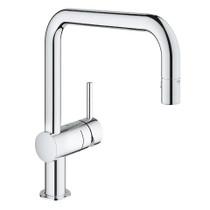 Grohe Minta Single-Handle Kitchen Faucet Chrome