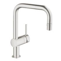 Grohe Minta Single-Handle Kitchen Faucet SuperSteel