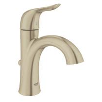 Grohe Agira Single-Handle Bathroom Faucet Lavatory Centreset Brushed Nickel Finish