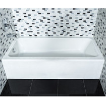 "American Standard Evolution II 5' x 30"" Bathtub With Integral Apron"