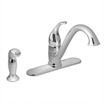 Moen Camerist One-Handle Low Arc Kitchen Faucet Chrome Finish - 7840
