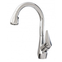 Kalia NERIS DIVER Pull-down Spray Kitchen Faucet Chrome Finish