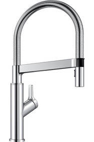 BLANCO Solenta Senso Polished Chrome 1-Handle Pull-down Kitchen Faucet