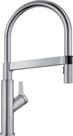 BLANCO Solenta Senso Stainless Finish 1-Handle Pull-down Kitchen Faucet
