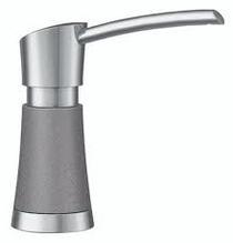 Blanco Artona Soap Dispenser in Stainless Finish / Metallic Gray