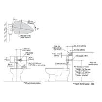 TOTO TET1GA32 EcoPower Toilet Flush Valve Chrome