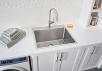 BLANCO URBENA Kitchen Faucet in Stainless Finish