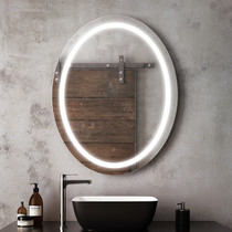 "Kalia Effect Oval Illuminated LED Mirror 30"" X 38 """
