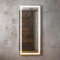 "Kalia Effect Walk-In Illuminated LED Mirror 24"" X 56"""