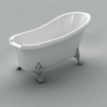 "Acritec Victorian 60"" Freestanding Tub"