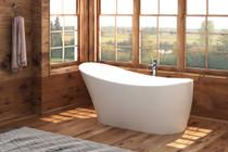 Zitta Asteria Freestanding Bathtub 65″ x 28 3/4″ x 31 1/2″