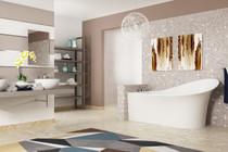 Zitta Evolo Freestanding Bathtub 67″ x 35 1/2″ x 35″