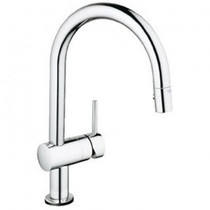 Grohe Minta Touch Kitchen Faucet With Electronic Single Handle