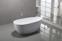"""Hermon 59"""" Free Standing Bath Tub"""