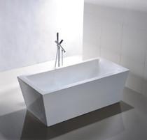 """Malta 59"""" Free Standing Bath Tub"""