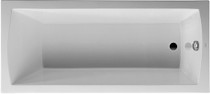 "Duravit Daro Bathtub rectangle built-in, 1/4"" sanitary acrylic"