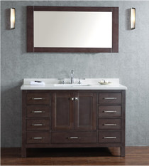 "Sandy 60"" Single Sink Bathroom Vanity **BLOWOUT SALE**"