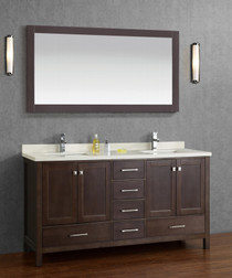 "Sandy 72"" Double Sink Bathroom Vanity"