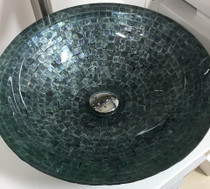Aqua Over Mount Bathroom Sink