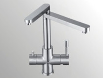 Castle Bay Linden Filter Kitchen Faucet Stainless