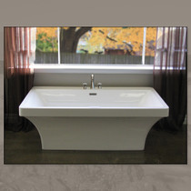 Mirolin Beacon Freestanding Tub 67""