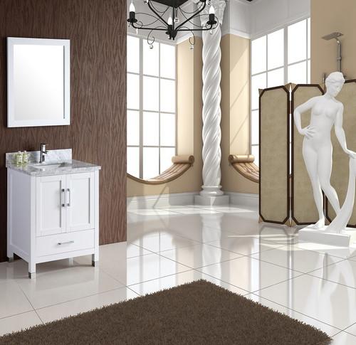"Armada 30"" Bathroom Vanity White"