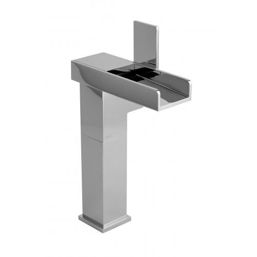 Rubi Kali Single-hole Raised Washbasin faucet Brushed Nickel