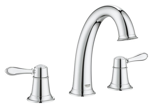 Grohe Fairborn Lavatory Widespread Faucet Chrome