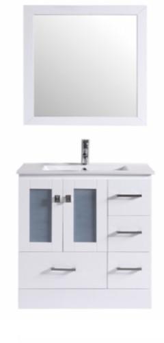 "Hamilton 36"" Bathroom Vanity White"